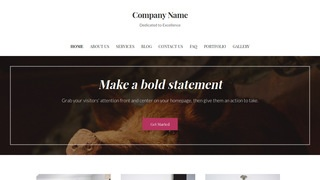 Uptown Style Taxidermist WordPress Theme