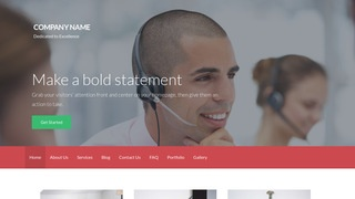 Activation Telemarketing Service WordPress Theme