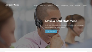 Lyrical Telemarketing Service WordPress Theme