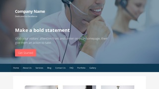Primer Telemarketing Service WordPress Theme