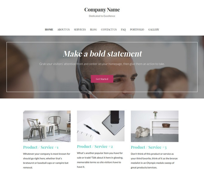 Uptown Style Telemarketing Service WordPress Theme