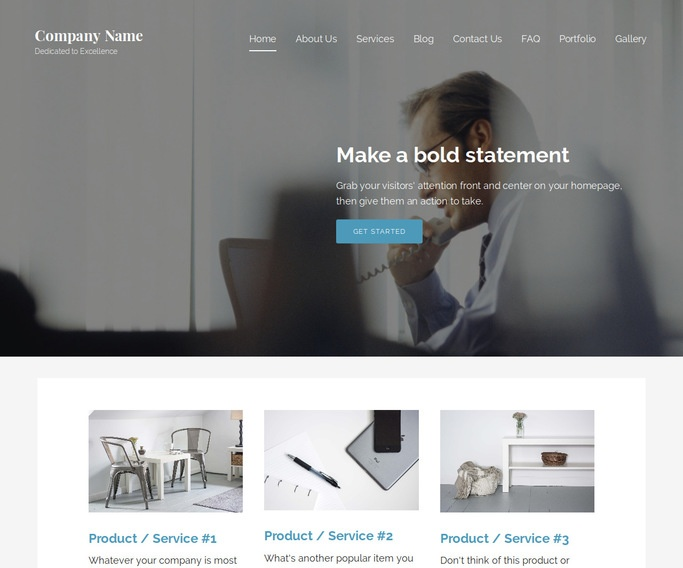 Lyrical Call Center WordPress Theme