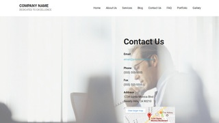 Mins Call Center WordPress Theme