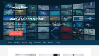 Primer Television Station WordPress Theme