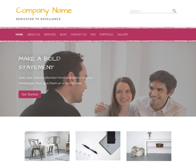 Scribbles Title Company WordPress Theme