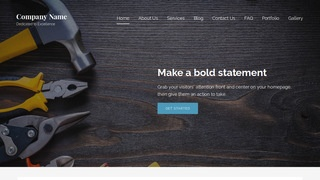 Lyrical Tool and Die WordPress Theme