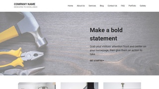 Mins Tool and Die WordPress Theme