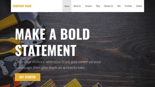 Stout Tool and Die WordPress Theme