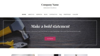 Uptown Style Tool and Die WordPress Theme
