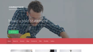 Activation Tool Rentals WordPress Theme