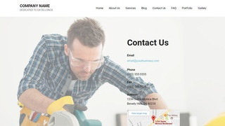 Mins Tool Rentals WordPress Theme