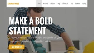 Stout Tool Rentals WordPress Theme