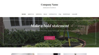 Uptown Style Topsoil Supplier WordPress Theme