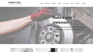 Mins Trailer Parts and Accessories WordPress Theme