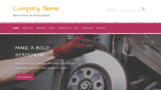 Scribbles Trailer Parts and Accessories WordPress Theme