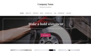 Uptown Style Trailer Parts and Accessories WordPress Theme