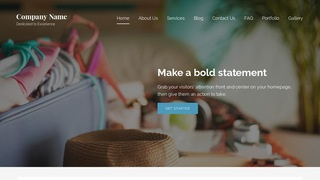Lyrical Travel Service WordPress Theme