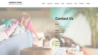 Mins Travel Service WordPress Theme