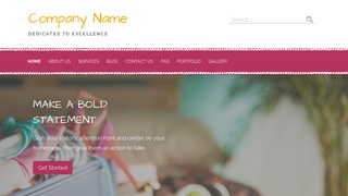 Scribbles Travel Service WordPress Theme