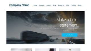 Ascension Truck Rentals WordPress Theme