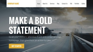 Stout Truck Rentals WordPress Theme