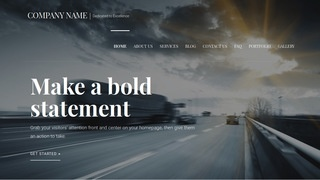 Velux Truck Rentals WordPress Theme