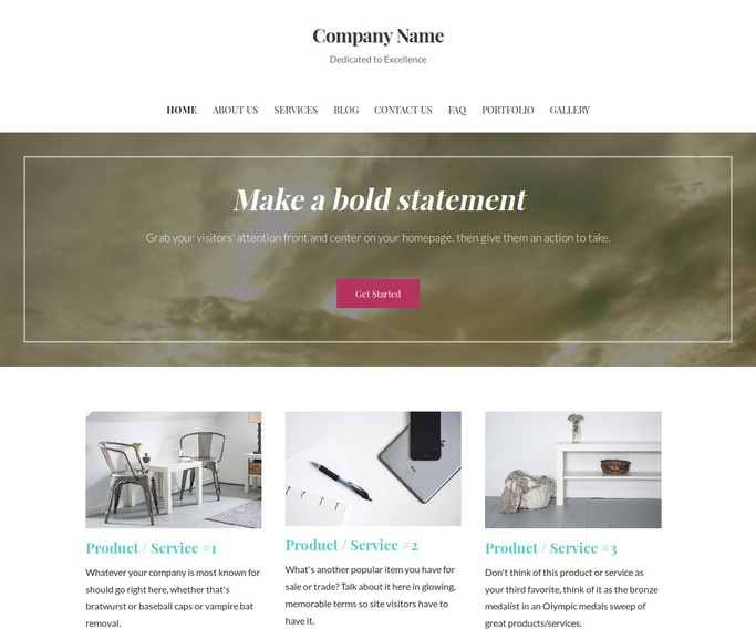 Uptown Style Commercial Truck Equipment, Parts and Accessories WordPress Theme