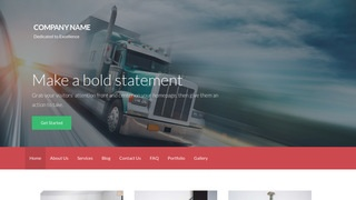 Activation Trucking School WordPress Theme
