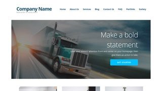 Ascension Trucking School WordPress Theme