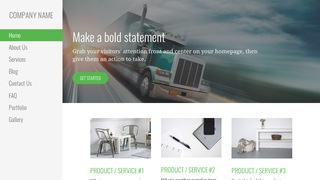 Escapade Trucking School WordPress Theme