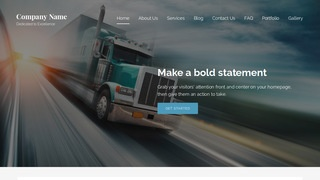 Lyrical Trucking School WordPress Theme