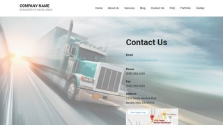 Mins Trucking School WordPress Theme