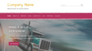 Scribbles Trucking School WordPress Theme