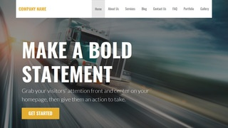 Stout Trucking School WordPress Theme