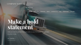 Velux Trucking School WordPress Theme