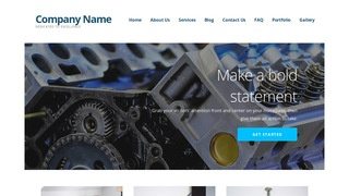 Ascension Truck Repair WordPress Theme