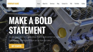Stout Truck Repair WordPress Theme