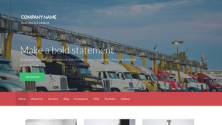 Activation Truck Stop WordPress Theme