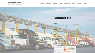Mins Truck Stop WordPress Theme