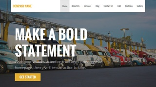 Stout Truck Stop WordPress Theme