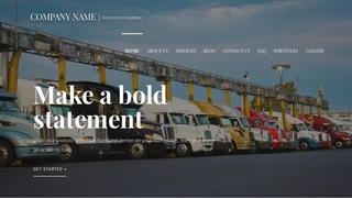 Velux Truck Stop WordPress Theme