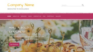 Scribbles Event Space WordPress Theme