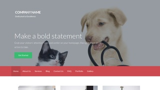 Activation Veterinary WordPress Theme