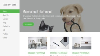 Escapade Veterinary WordPress Theme