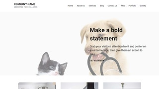 Mins Veterinary WordPress Theme