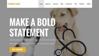 Stout Veterinary WordPress Theme