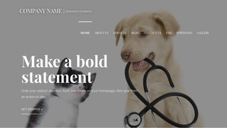 Velux Veterinary WordPress Theme