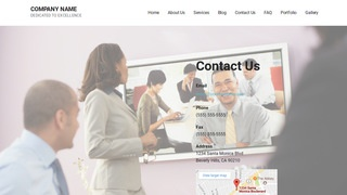 Mins Video Conferencing Equipment WordPress Theme