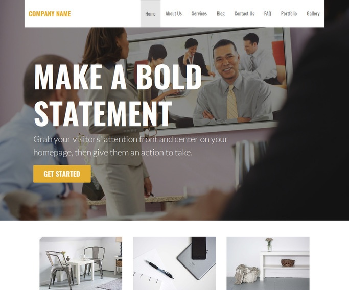 Stout Video Conferencing Equipment WordPress Theme