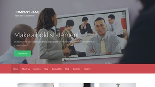 Activation Video Conferencing Service WordPress Theme